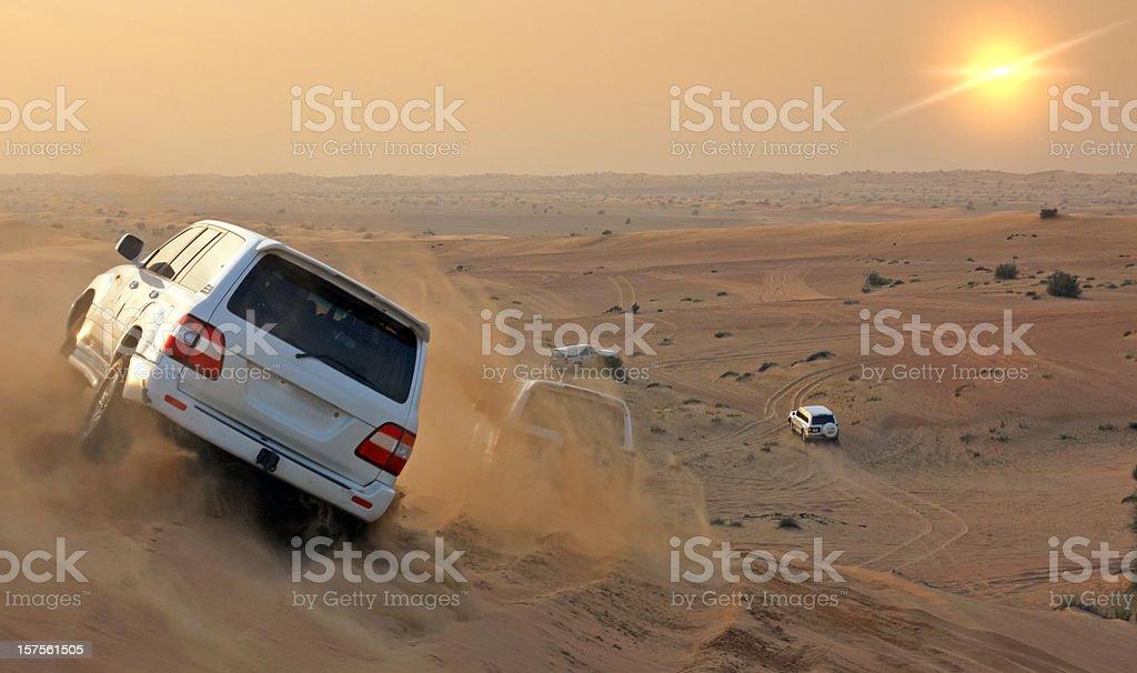 Desert safari royalty-free stock photo