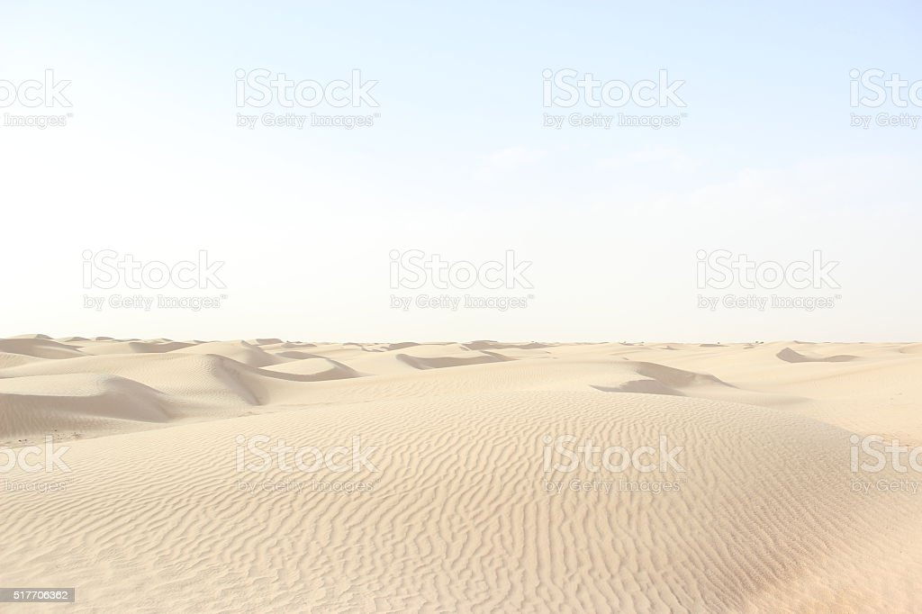 desert Sahara stock photo