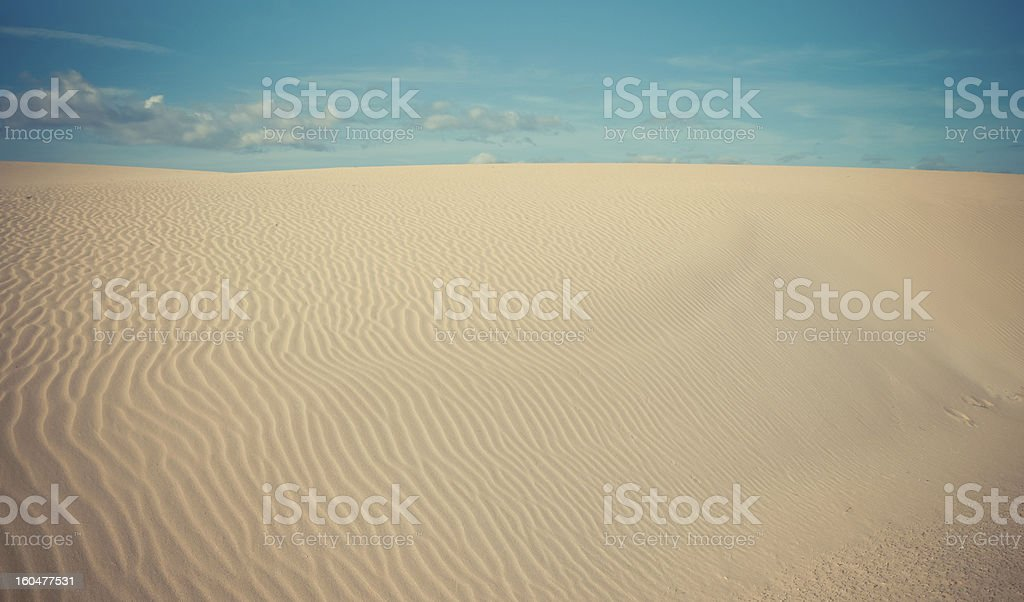 Wüste-Düne Lizenzfreies stock-foto