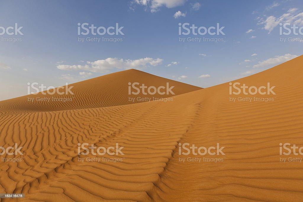 desert sand dunes royalty-free stock photo