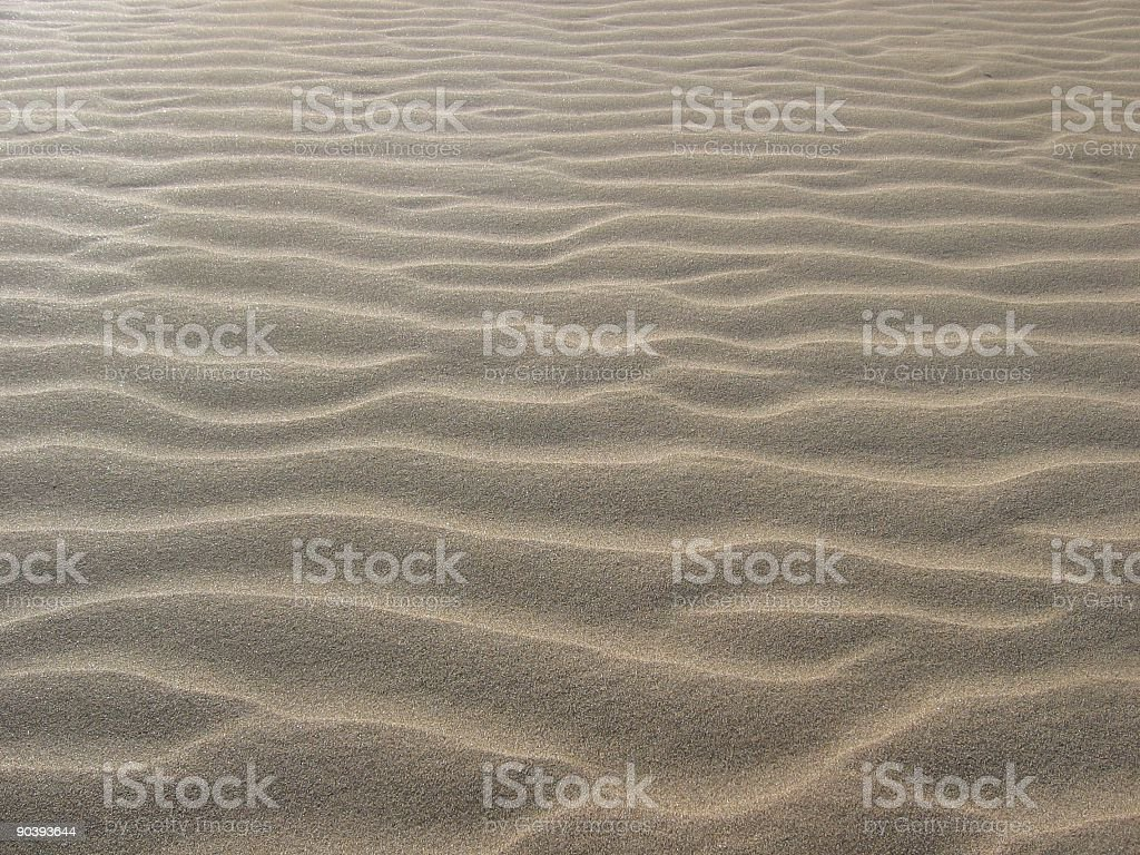 Desert sand royalty-free stock photo