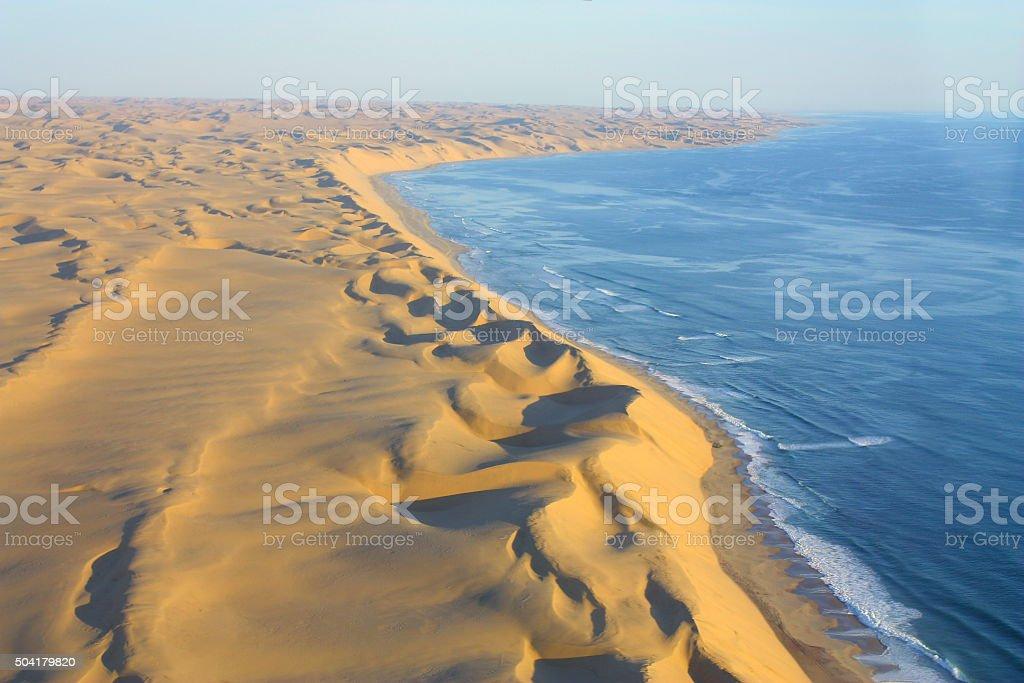 Desert Sanddunes Coastline stock photo