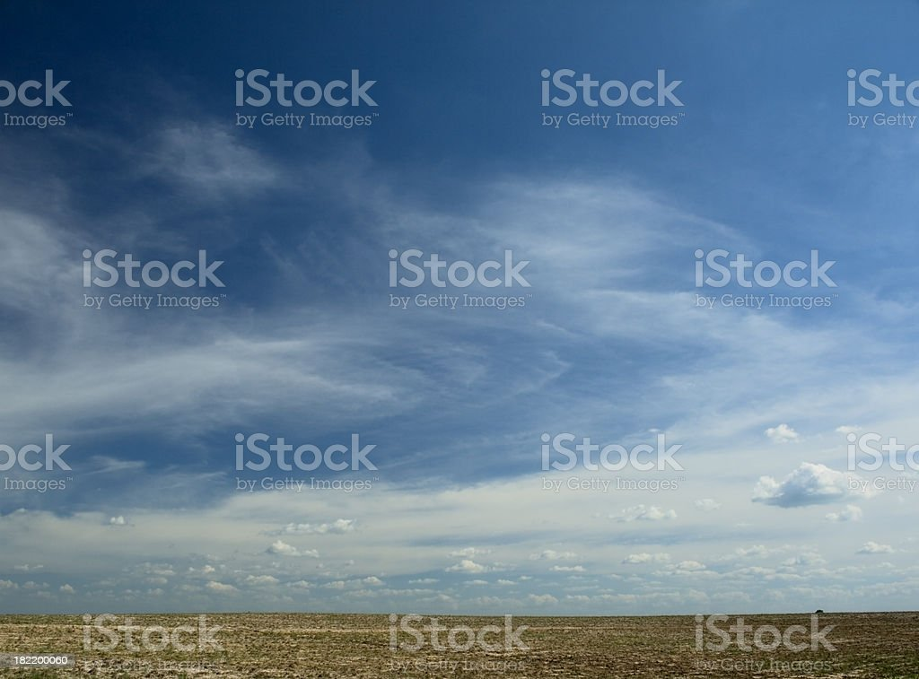 Desert Scenic royalty-free stock photo