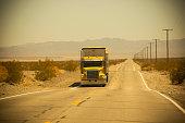 Desert Semi Truck