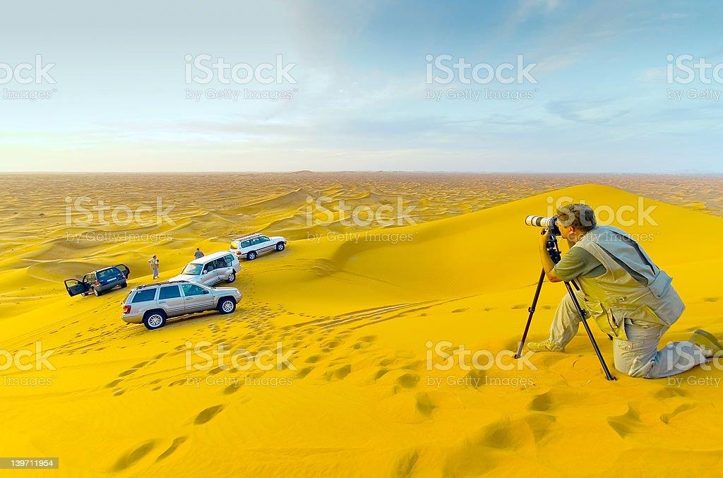Desert Shoot 2 royalty-free stock photo