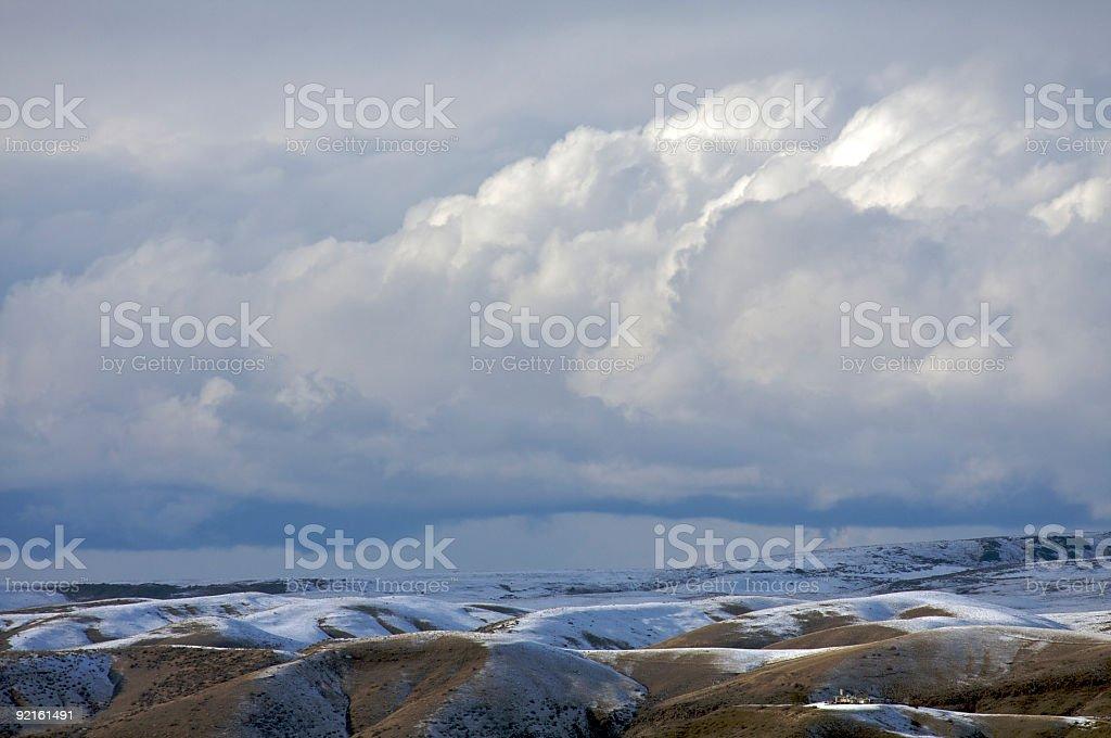 Desert Sky royalty-free stock photo