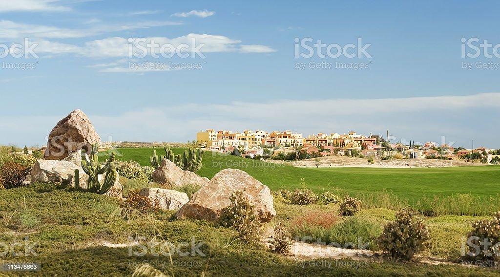 Desert Springs Golf Club stock photo