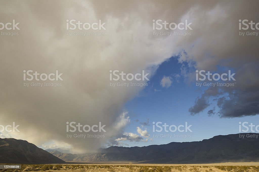 Desert Storm Cloud royalty-free stock photo