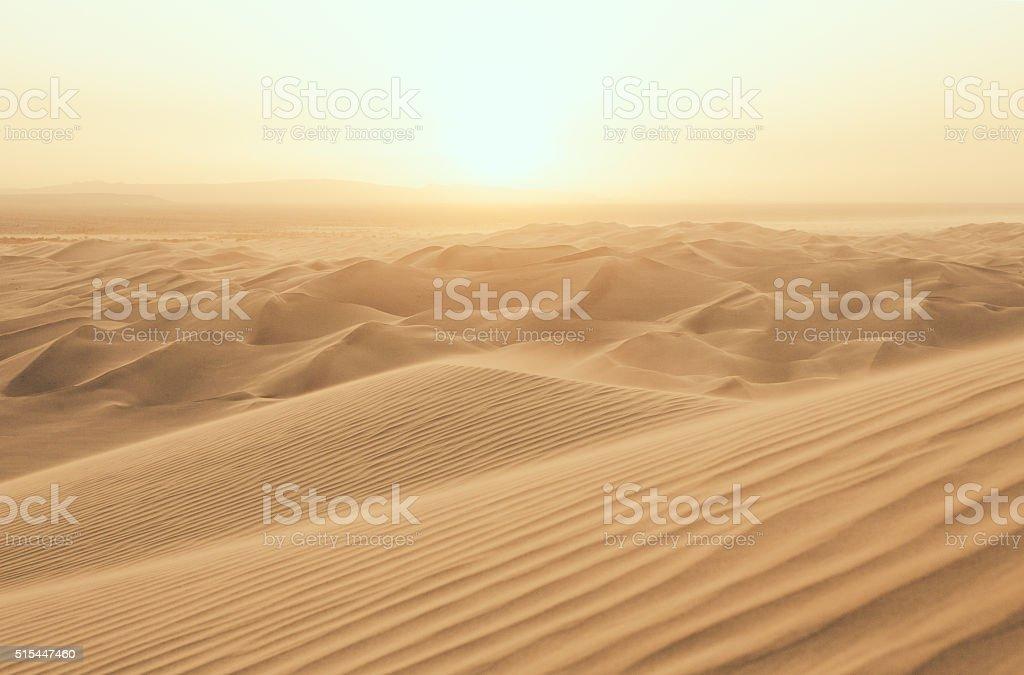 Desert Sun stock photo