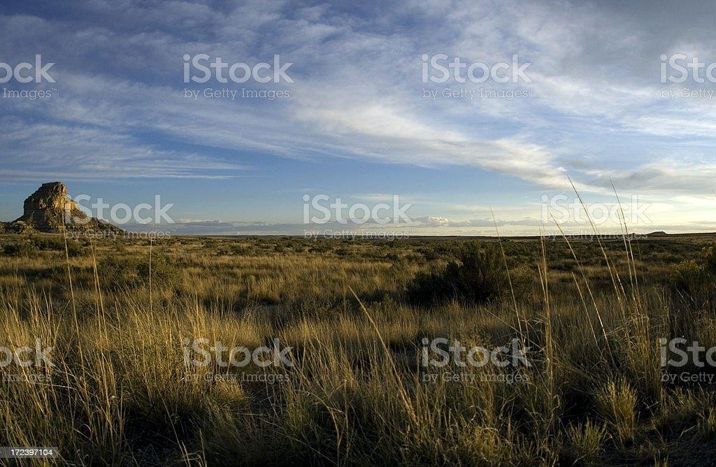Desert Sunset royalty-free stock photo