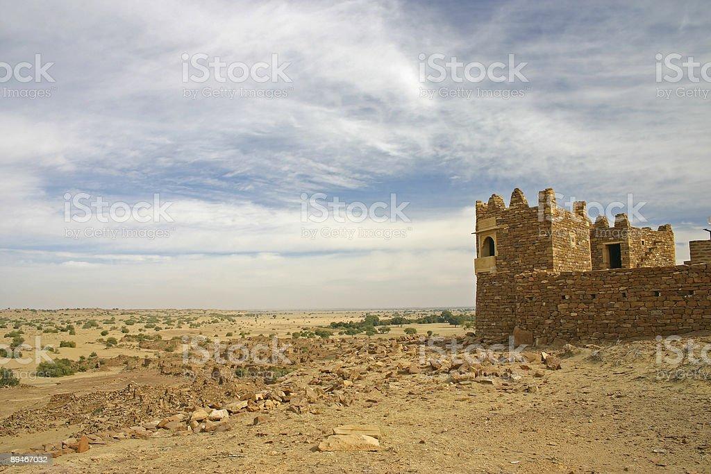 Desert Towers royalty-free stock photo