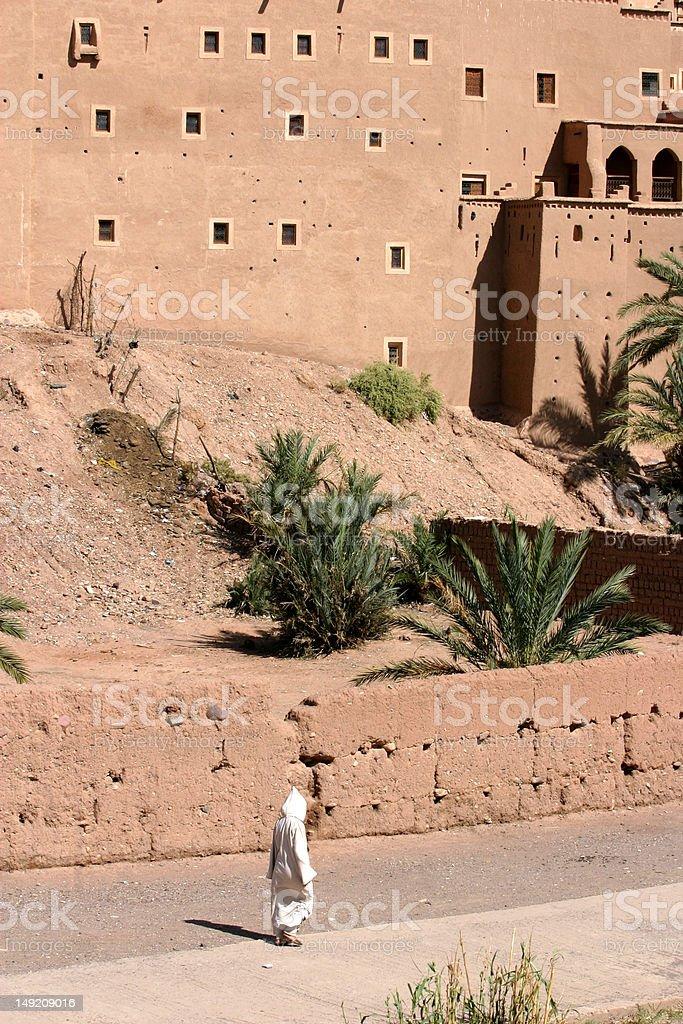 desert town stock photo