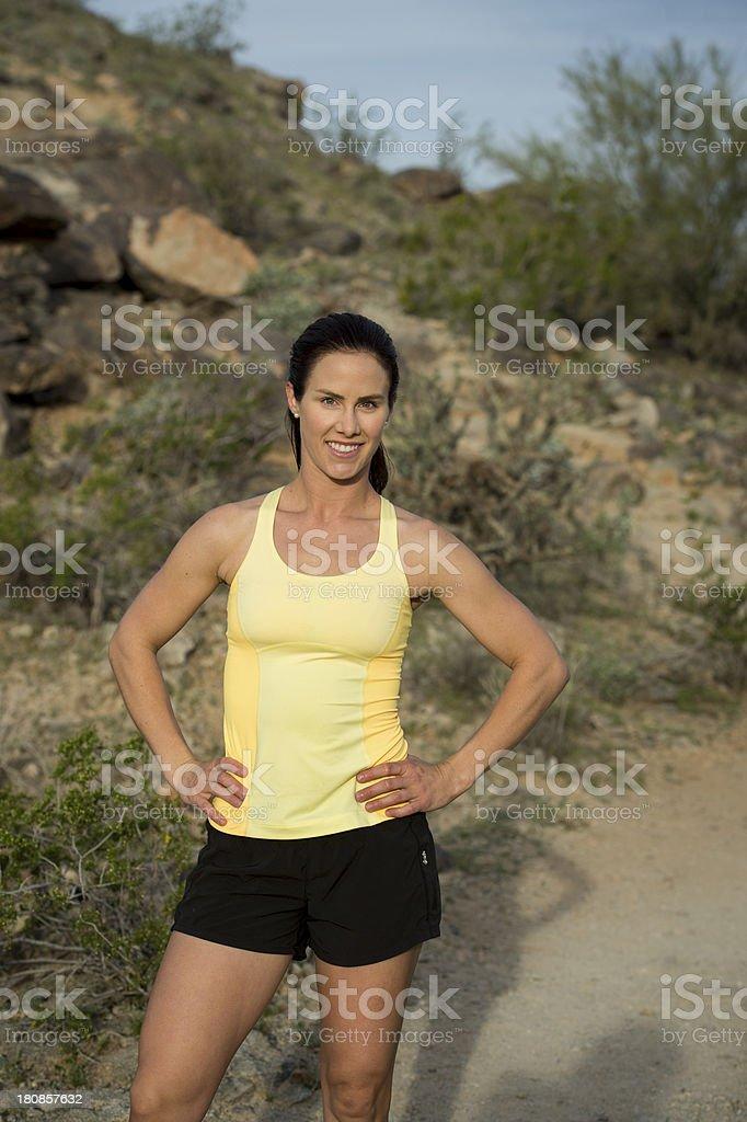 Desert Trail royalty-free stock photo
