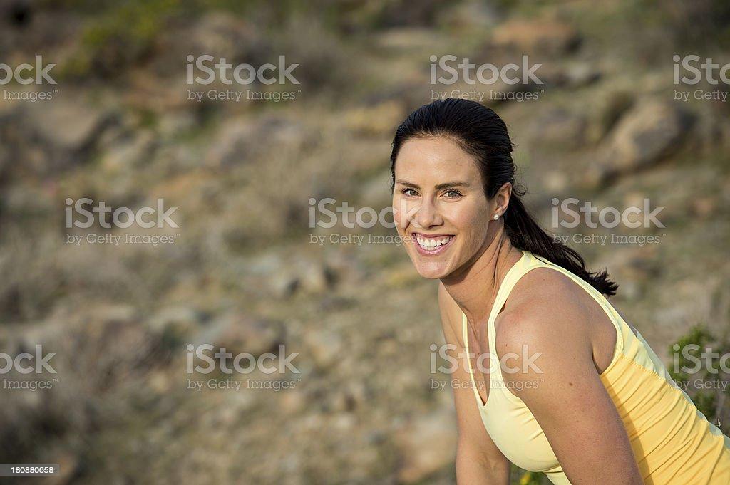 Desert Trail Stretch royalty-free stock photo