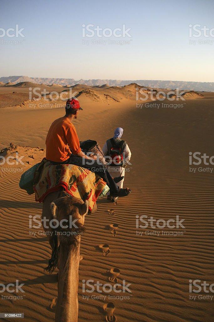 Desert trip royalty-free stock photo