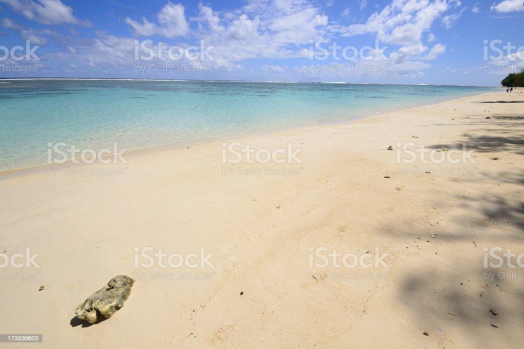 Desert tropical beach royalty-free stock photo