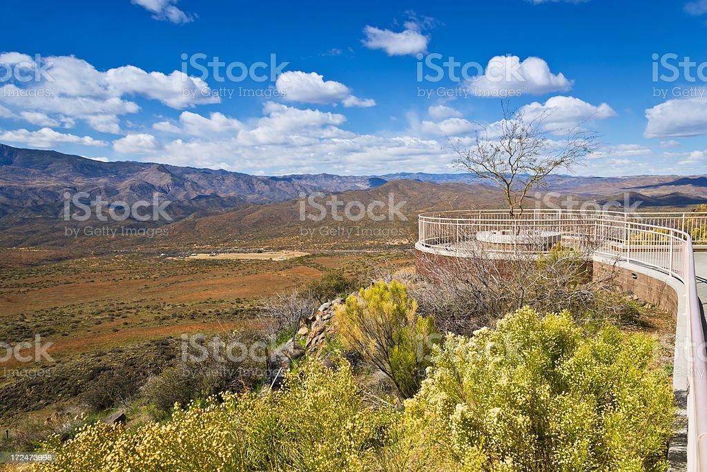 Desert Viewpoint royalty-free stock photo