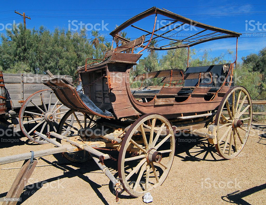 Desert Wagon stock photo