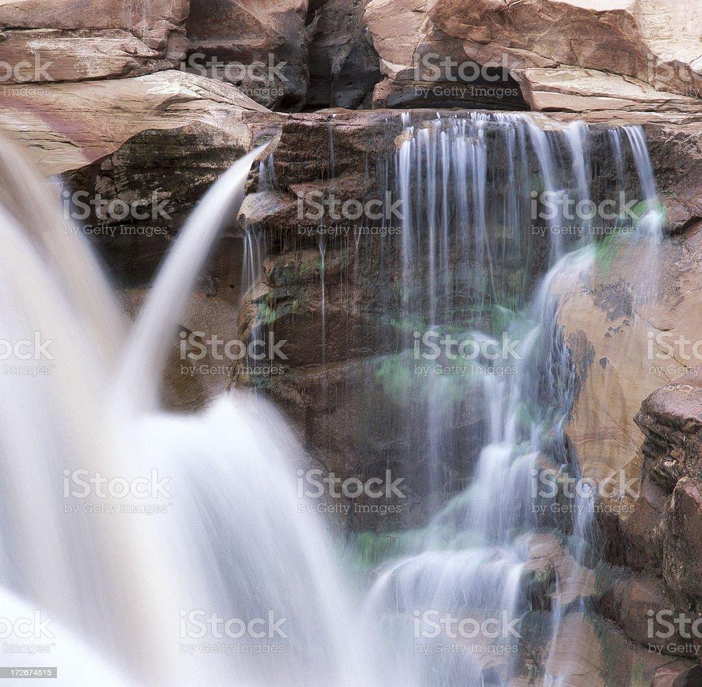 Desert Waterfall stock photo