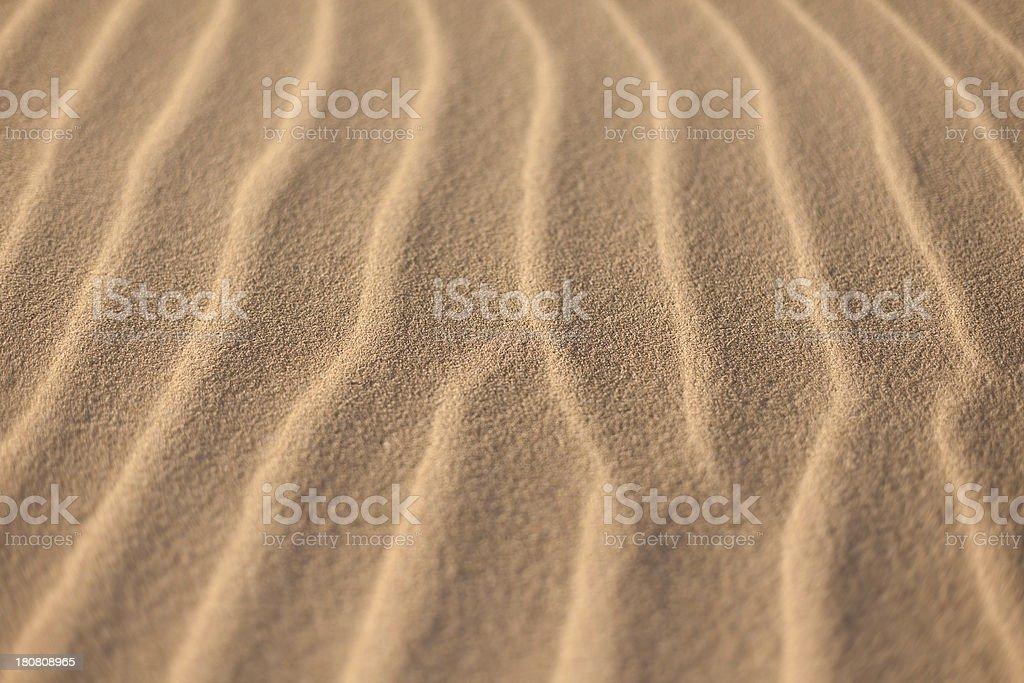 Desert Waves royalty-free stock photo