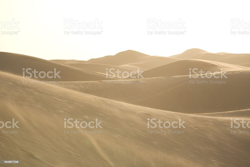 Desert Winds royalty-free stock photo