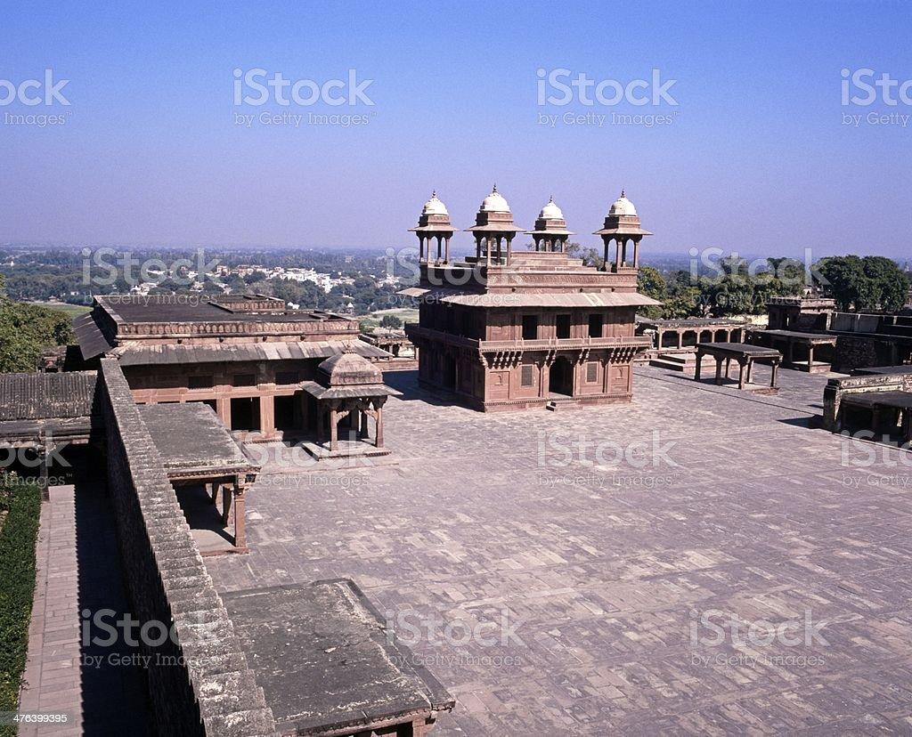 Deserted city, Fatehpur Sikri, India. royalty-free stock photo