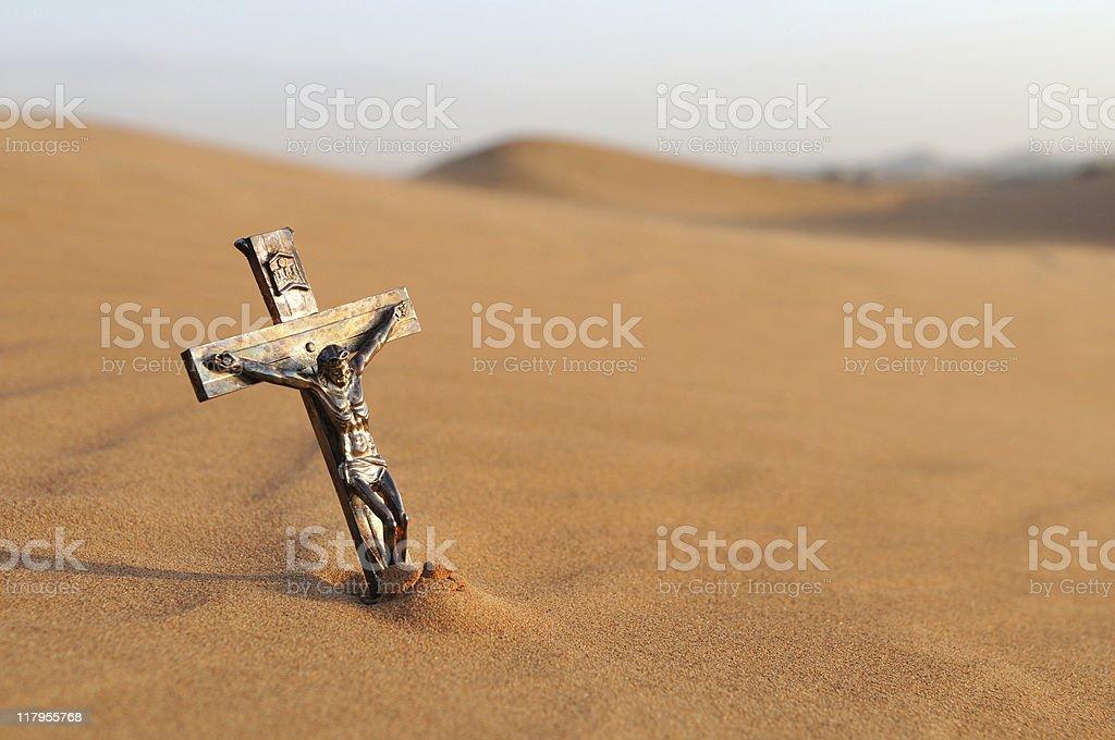 deserted faith stock photo
