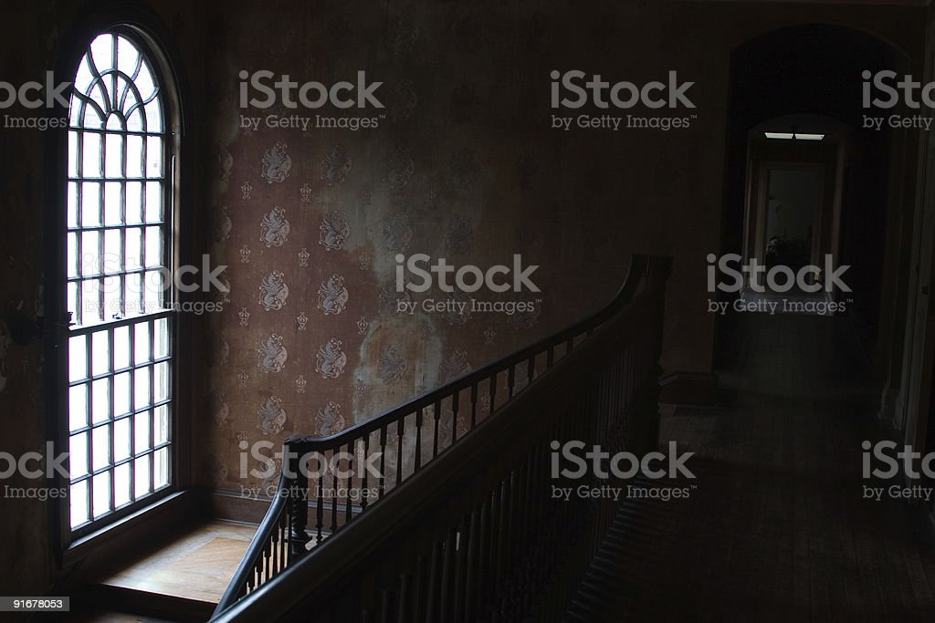 Deserted Mansion royalty-free stock photo