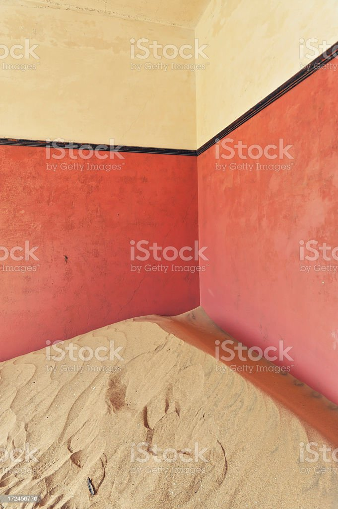 Deserted room royalty-free stock photo