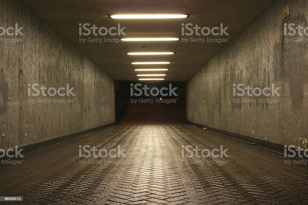 Deserted Subway stock photo