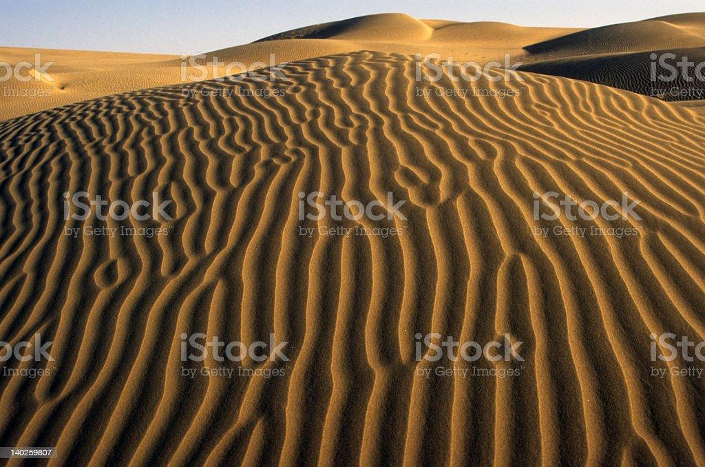 Desertscape royalty-free stock photo