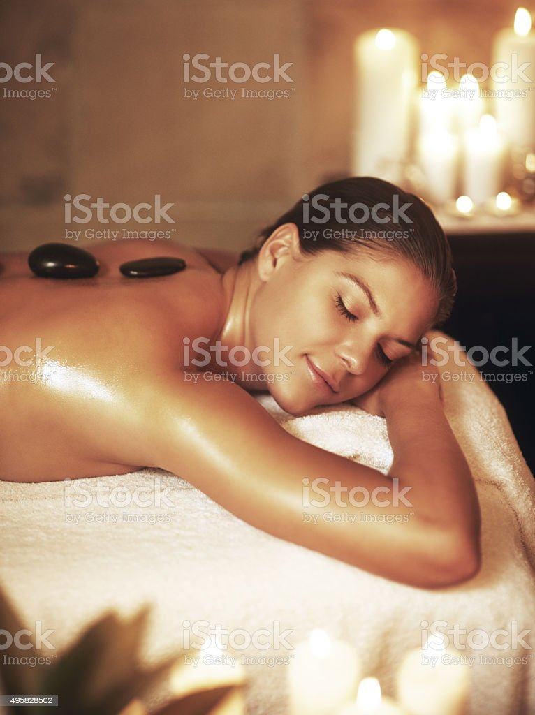 I deserve to be pampered stock photo