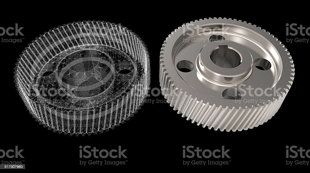 design 3D objects stock photo