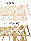 Design and manufacture of wooden houses