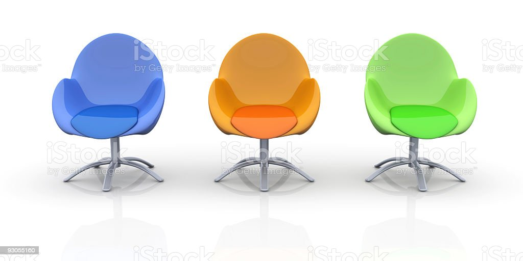 Design Chairs royalty-free stock photo
