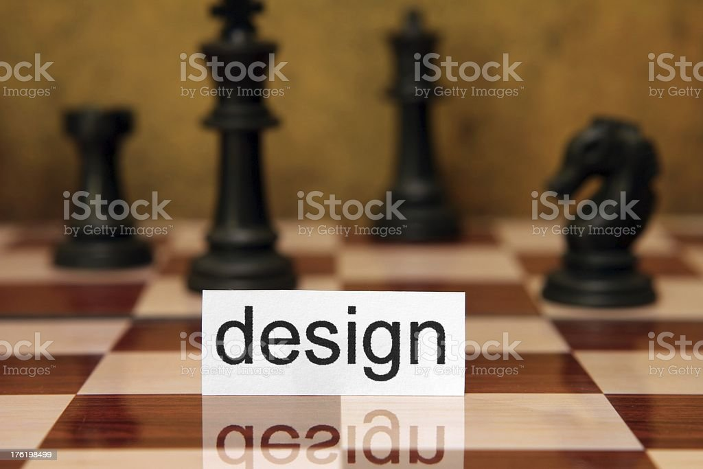 Design concept royalty-free stock photo