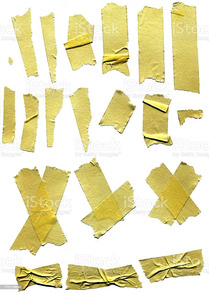 Design Element - Masking Tape royalty-free stock photo
