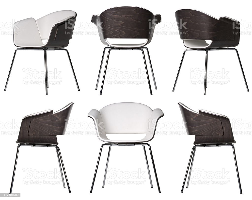 Design elements | chairs stock photo
