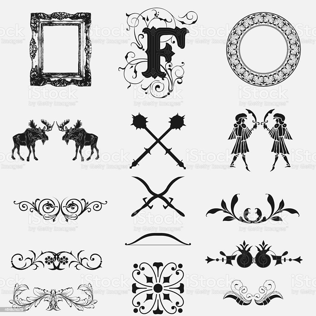 design elements royalty-free stock photo