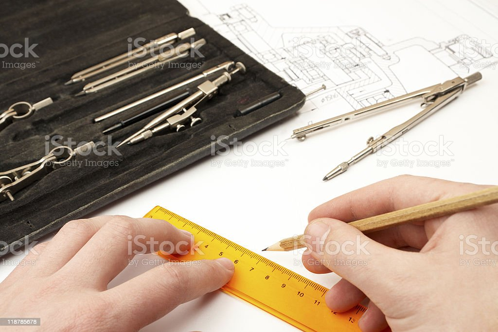 design engineer royalty-free stock photo