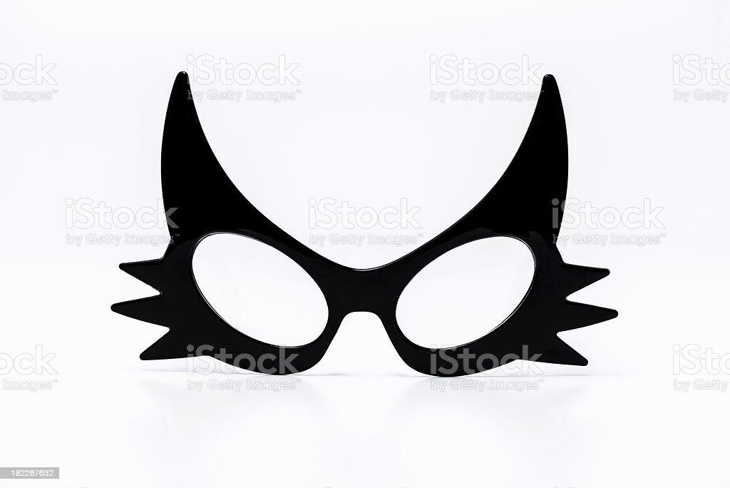 Design glasses, cat shape royalty-free stock photo