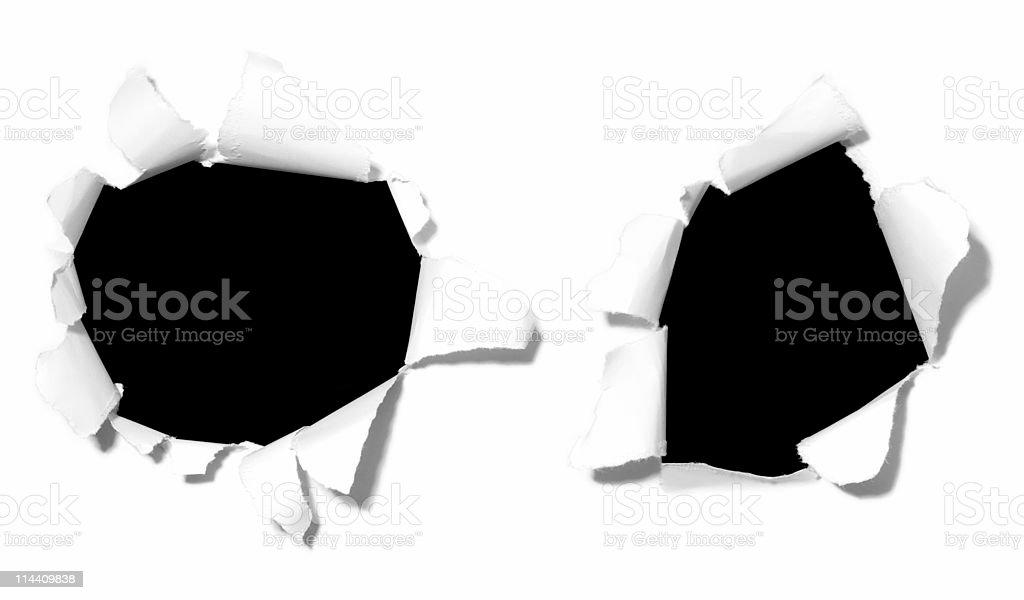 Design Holes (superhires) stock photo