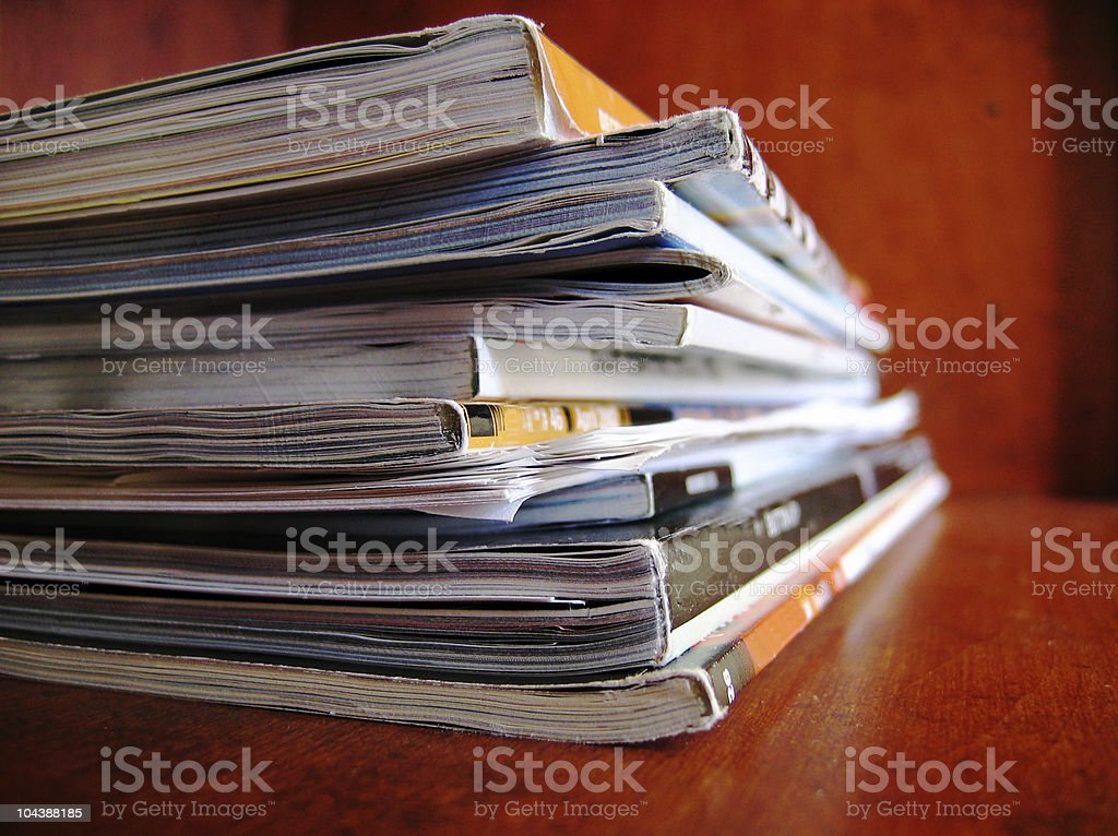 Design Magazines royalty-free stock photo