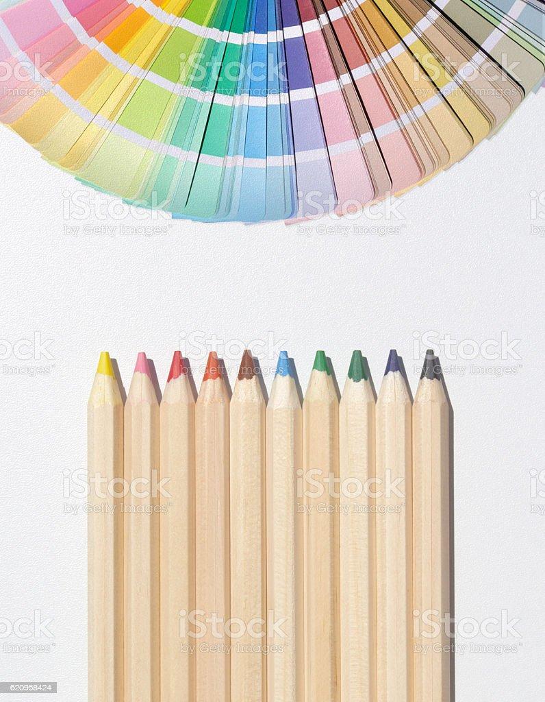 Design Materials stock photo