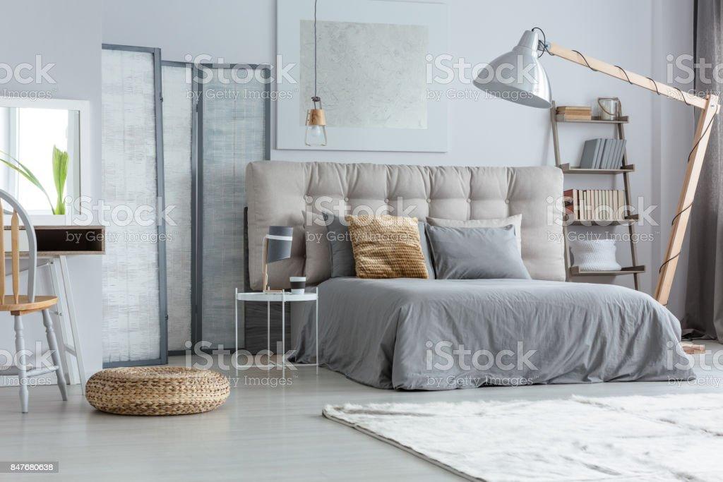 Design modern bedroom stock photo