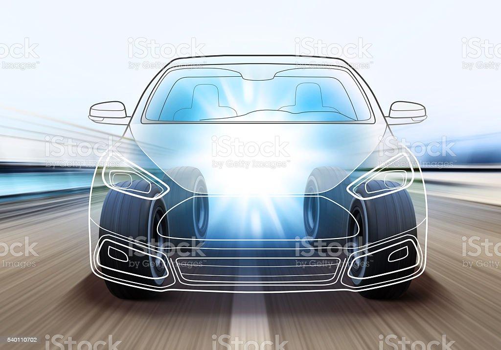 design of car stock photo