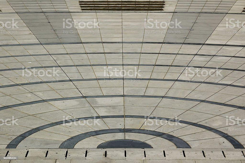 Design of floor royalty-free stock photo