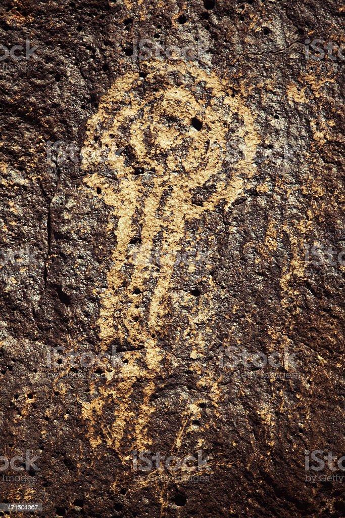 Design Pictogram - Petroglyph National Monument royalty-free stock photo