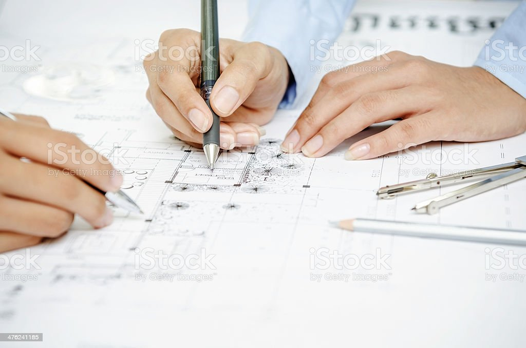 Design team royalty-free stock photo