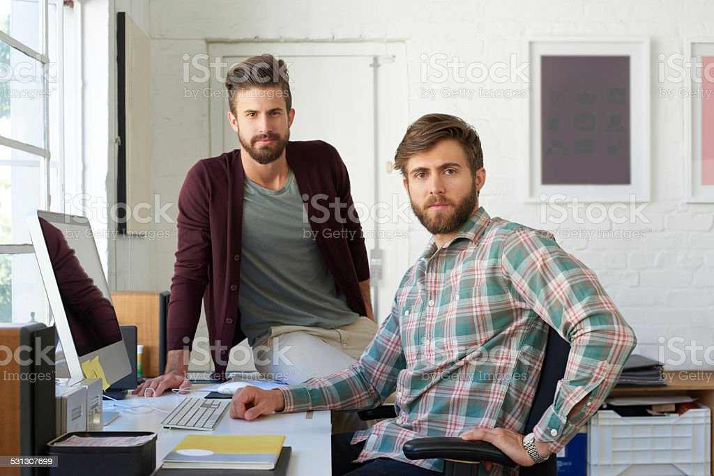 Design team you can trust stock photo